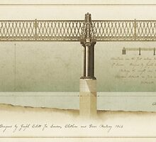 Blackfriars Railway Bridge London by Old-Lundenwic