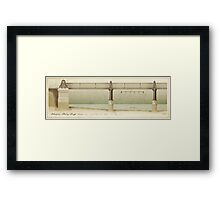 Blackfriars Railway Bridge London Framed Print