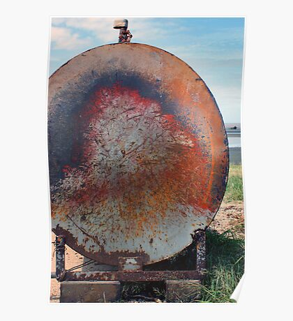 What colour is rust. Poster