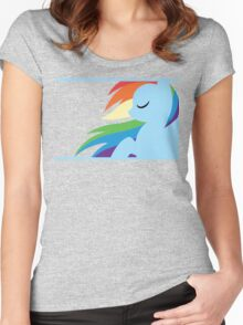 RBD silhouette Women's Fitted Scoop T-Shirt