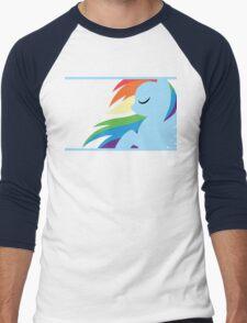 RBD silhouette Men's Baseball ¾ T-Shirt