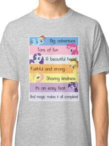 Friendship Is Magic Classic T-Shirt