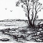 Lakeside Sketch by Margaret Stockdale