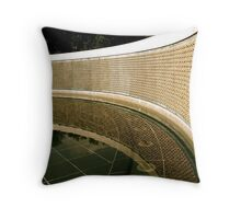 Wall of the Fallen Throw Pillow