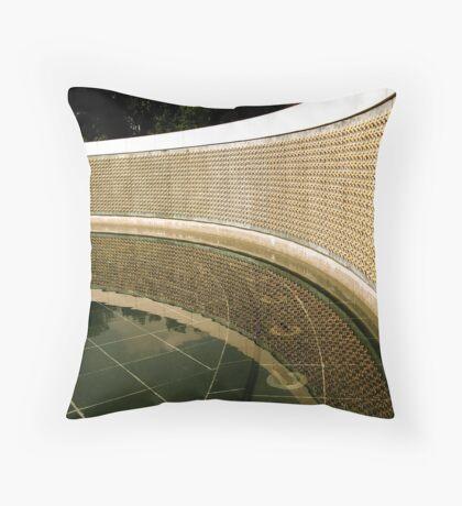 Wall of the Fallen Throw Pillow