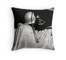 Shadow of Time Throw Pillow