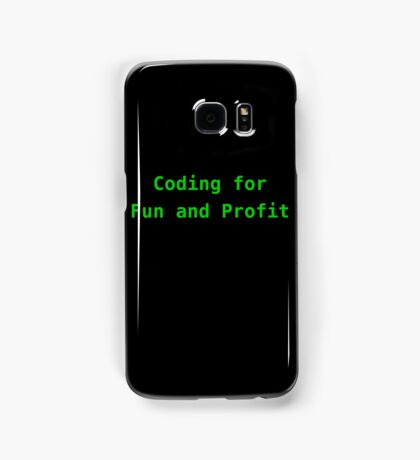 Coding for Fun and Profit Samsung Galaxy Case/Skin