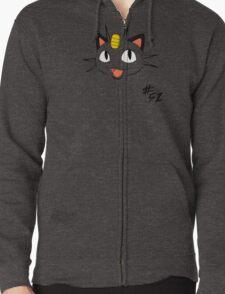 Pokemon 52 Meowth Zipped Hoodie