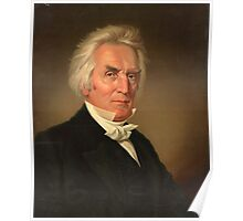 Alexander Campbell head-and-shoulders portrait by J. Boglo (1837) Poster