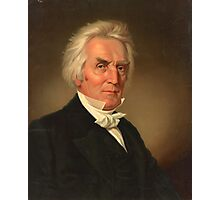 Alexander Campbell head-and-shoulders portrait by J. Boglo (1837) Photographic Print