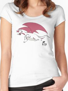 Pokemon 373 Salamence Women's Fitted Scoop T-Shirt