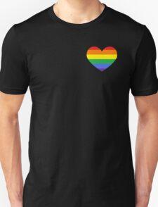 Gay Heart (B) Unisex T-Shirt