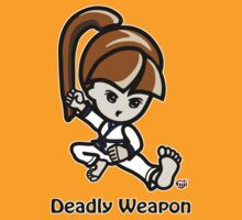 Martial Arts/Karate Girl - Deadly Weapon by fujiapple