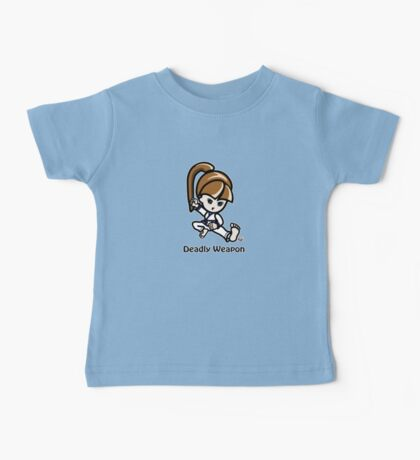 Martial Arts/Karate Girl - Deadly Weapon Baby Tee
