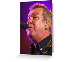 Jimmy Barnes Greeting Card