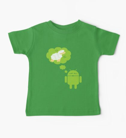 DROID Dreaming of an Electric Sheep Baby Tee