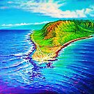 Kaena Point Refractions by jyruff