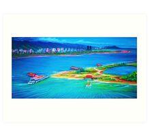 Mokauea Island Honolulu,Oahu Art Print