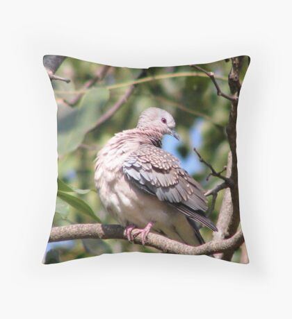 Twisted neck Throw Pillow