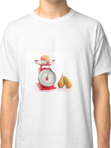 Kitchen red weight scale utensil Classic T-Shirt