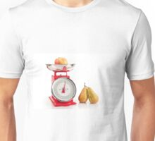 Kitchen red weight scale utensil Unisex T-Shirt