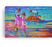 Sunday afternoon Shore study Canvas Print