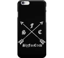 Sly Fox Crew Black iPhone Case/Skin