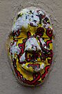 Plaster of Paris - the mask behind the face by Rhoufi