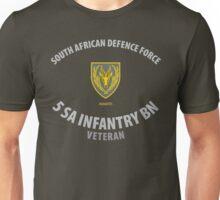 SADF 5 SA Infantry Battalion Veteran  Unisex T-Shirt