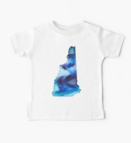 New Hampshire Home State Baby Tee