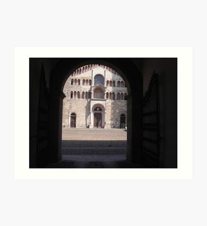 IL DUOMO DI PARMA...ITALY... Europa-- 2000 visualizzaz agosto 2013 -VETRINA RB EXPLORE 26 DICEMBRE 2012 -- Art Print