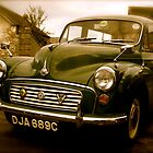 Morris Minor by Lou Wilson