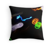 DeckBlur Throw Pillow