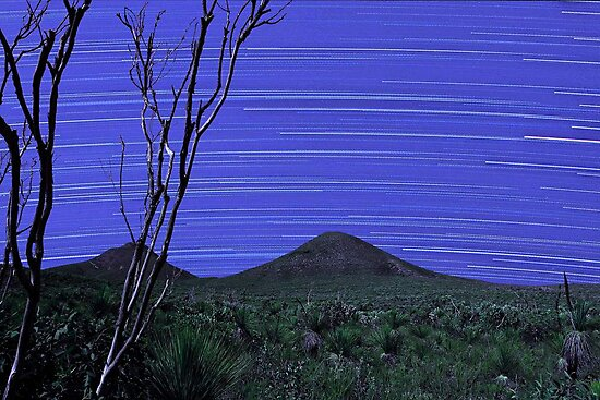 Star Trails - Stirling Ranges Western Australia by EOS20