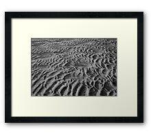 Silver Strand Beach Framed Print