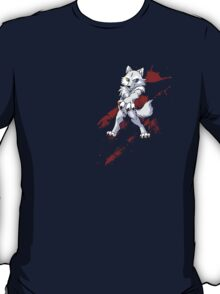 Cute anthro white wolf T-Shirt