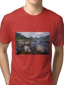 Wastwater English Lake District Tri-blend T-Shirt