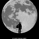 Moon minimal poster art by Zoe Toseland