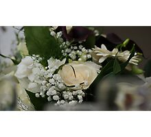 Table flowers Photographic Print