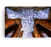 A sign from above.  Canvas Print