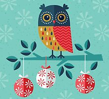 Christmas Card - Whoo-Hoo It's Christmas! by daisy-beatrice