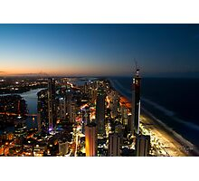 Surfers Paradise from Q1 Photographic Print