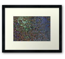 Smart Phone and Ice Framed Print