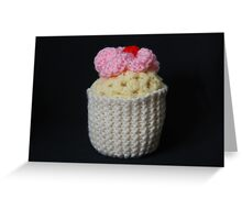 tasty knitting Greeting Card