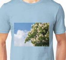 tree of blooming Aesculus Unisex T-Shirt