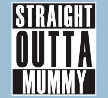 Straight Outta Mummy Kids Tee