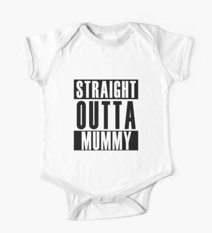 Straight Outta Mummy One Piece - Short Sleeve
