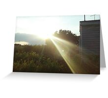 Light That Gives Life ! Greeting Card