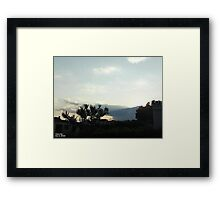 SunDown 3 Framed Print