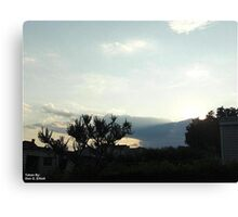 SunDown 3 Canvas Print